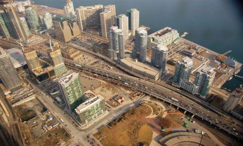 Zdjecie KANADA / Ontario / Toronto / Widok z CN Towe