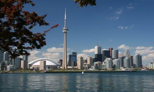 Zdjecie KANADA / Ontario / Toronto - Centre Island / panorama miasta