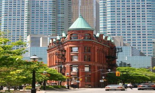 Zdjęcie KANADA / Ontario / Toronto / Gooderham Flatiron Building