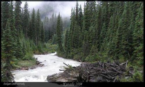 KANADA / Rocky Mountains / Lake of the Hanging Glaciers / Las Elfow