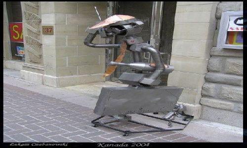 KANADA / Alberta / Calgary / Iron man