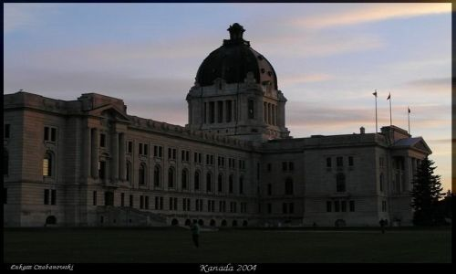KANADA / Sasketchewan / Regina / Regina Sask Legislative Building