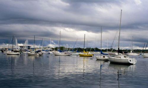 Zdjęcie KANADA / Toronto / Zatoka Jeziora Ontario / Jezioro Ontario