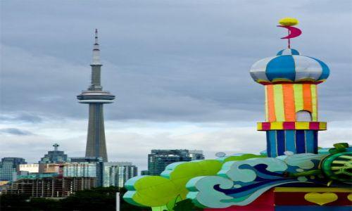 Zdjecie KANADA / Ontario / Toronto / Wieże w Toronto ...