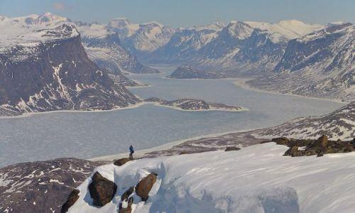 Zdjecie KANADA / Nunavut / Arktyka / Pangnirtung Fjo