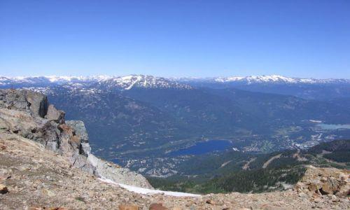 Zdjecie KANADA / Kolumbia Brytyjska / Wishler / Wisthler Mountain