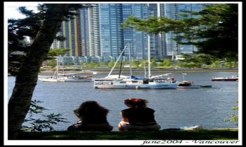 Zdjecie KANADA / British Columbia / Vancouver / Spojrzenie na z
