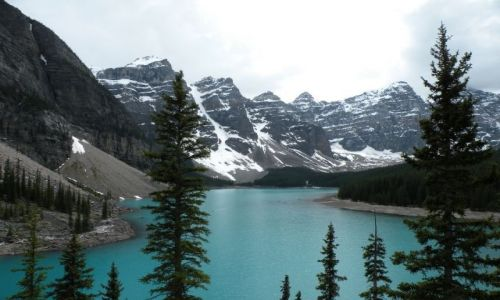 Zdjecie KANADA / Alberta / Morane Lake / Konkurs - Moran