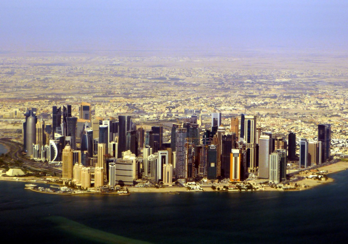 Zdjęcia: Doha, Doha, Zamki na piasku, KATAR