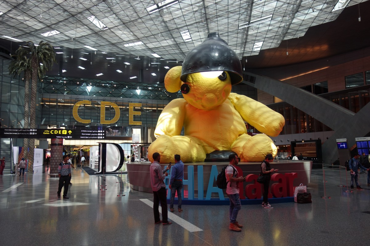 Zdjęcia: Lotnisko, Doha, Szef lotniska, KATAR