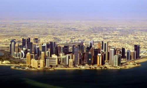 KATAR / Doha / Doha / Zamki na piasku