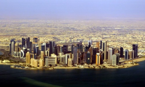 Zdjęcie KATAR / Doha / Doha / Zamki na piasku