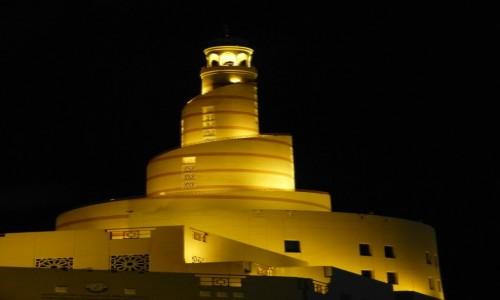 Zdjecie KATAR / Doha / Doha / Minaret meczetu Fanar
