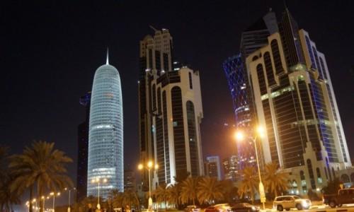 Zdjęcie KATAR / Katar / Nowe miasto / Katar nocą