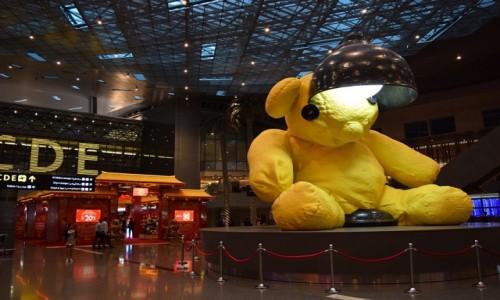 KATAR / Doha / Doho / Lotnisko w Doha 2