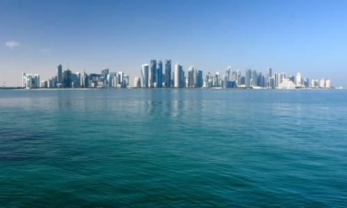 Zdjecie KATAR / Doha / Doha / Kosmiczne miasto