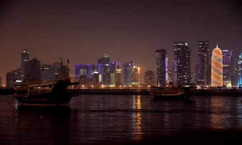 Zdjecie KATAR / Doha / Doha / Stare, nowe