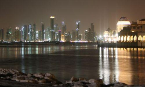 KATAR / Qatar / Doha / Doha Pearl, widok na West Bay