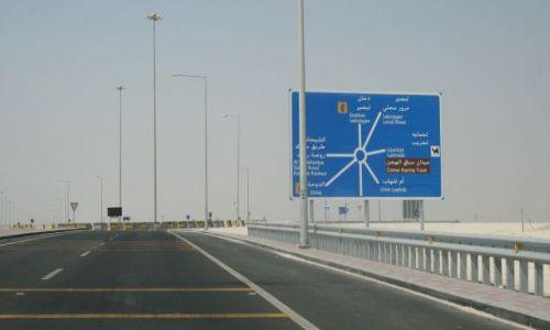 Zdjecie KATAR / Qatar / D / Qatar, autostrada
