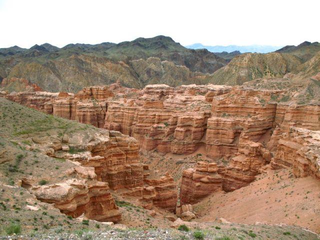 Zdjęcia: Kanion Szaryński.....okolice Czunży, Południowy Kazachstan., Kanion Szaryński, KAZACHSTAN
