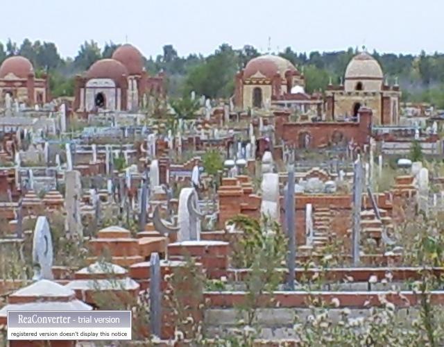 Zdjęcia: gdzieś w Kazachstanie, cmentarz, KAZACHSTAN