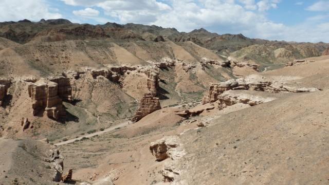 Zdjęcia: Kanion Szaryński, Kanion Szaryński, Z górnej krawędzi, KAZACHSTAN
