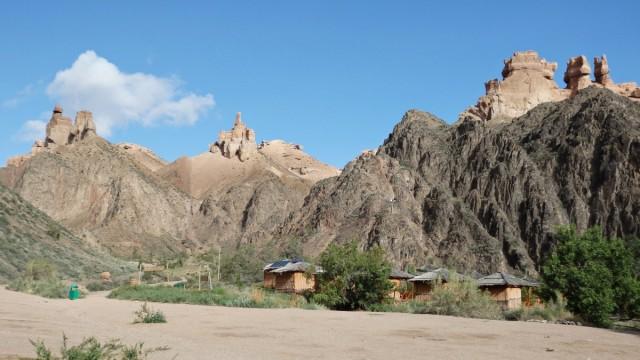 Zdjęcia: Kanion Szaryński - Eco Park, Kanion Szaryński, Zamki na szczytach, KAZACHSTAN