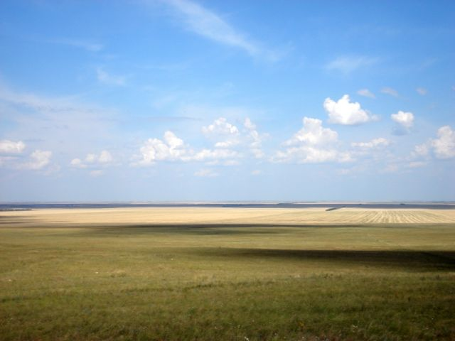 Zdjęcia: Oziornoje, Płn Kazachstan, Step, KAZACHSTAN