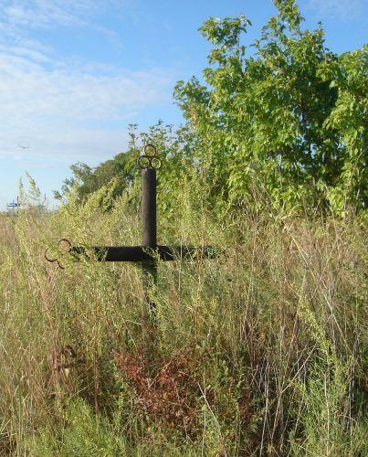 Zdjęcia: Oziornoje, Płn.Kazachstan, grób polskiego zesłańca, KAZACHSTAN