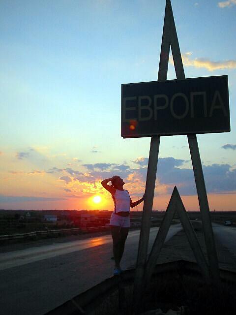 Zdjęcia: Atyrau, Most rozdzielajacy Europe od Azji, KAZACHSTAN