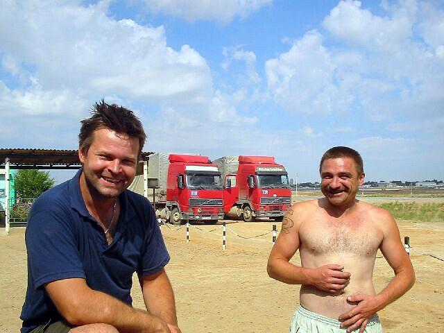 Zdj�cia: Dossor, Polscy Kierowcy ktorzy poratowali nas atlasem drogowym, KAZACHSTAN