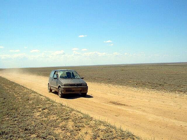 Zdjęcia: Kagandasz, Droga miedzynarodowa, KAZACHSTAN