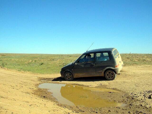 Zdjęcia: Makat, 386 km drogi bez drogi, KAZACHSTAN