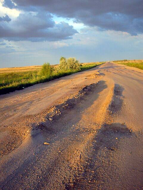 Zdjęcia: Aktiubińsk, Mini koleiny, KAZACHSTAN