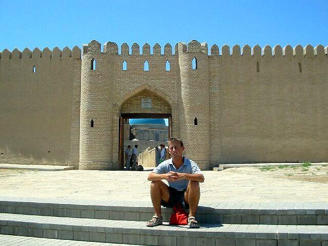 Zdjęcia: Turkistan, Brama wejściowa do meczetu, KAZACHSTAN