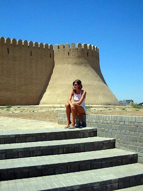 Zdjęcia: Turkistan, Brama wejściowa cd, KAZACHSTAN