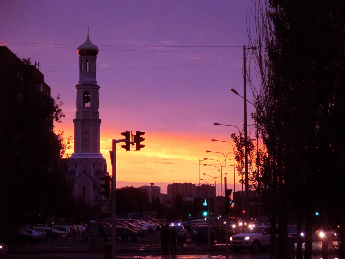 Zdjęcia: Astana, Azja Centralna, Zmierzch, KAZACHSTAN