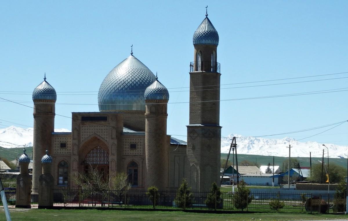 Zdjęcia: Karkara , przed granicą z Kirgizją, Meczet - Karkara, KAZACHSTAN