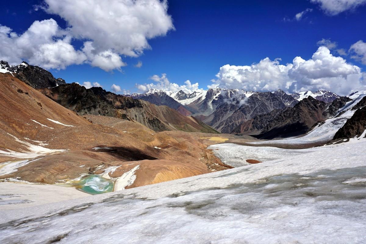 Zdjęcia: Przełęcz Turystów, Ałatau Zailijski, Tien Szan, KAZACHSTAN