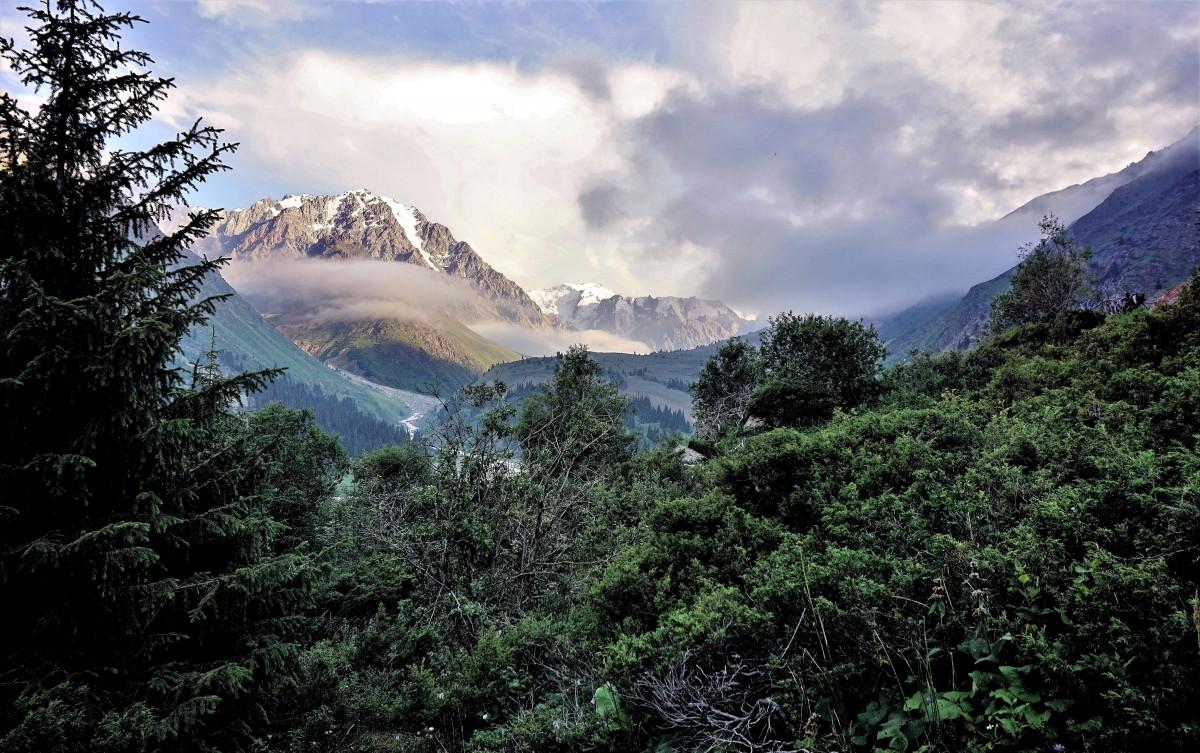 Zdjęcia: pasmo górskie Ałatau Zailijski, Tien Szan, Dolina Lewego Talgaru, KAZACHSTAN