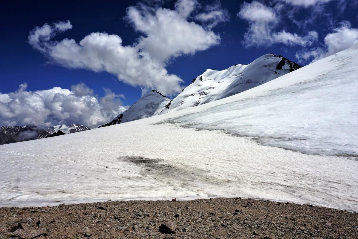 Zdjęcia: pasmo górskie Ałatau Zailijski, Tien Szan, Przełęcz Turystów, KAZACHSTAN