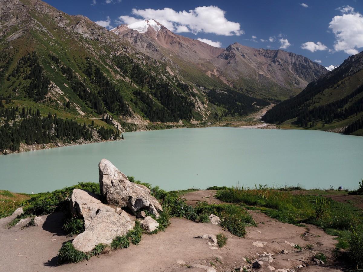 Zdjęcia: Park Narodowy Ile-Alatau, płd.-wsch. Kazachstan, Big Almaty Lake, KAZACHSTAN