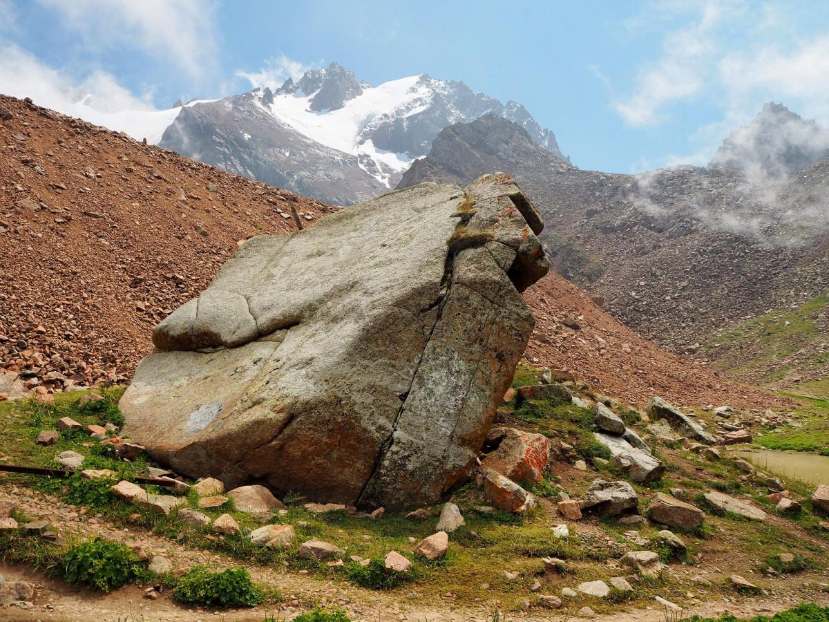 Zdjęcia: Przełęcz Talgarska,  Ałatau Zailijski  Gór Tienszan, W górach , KAZACHSTAN
