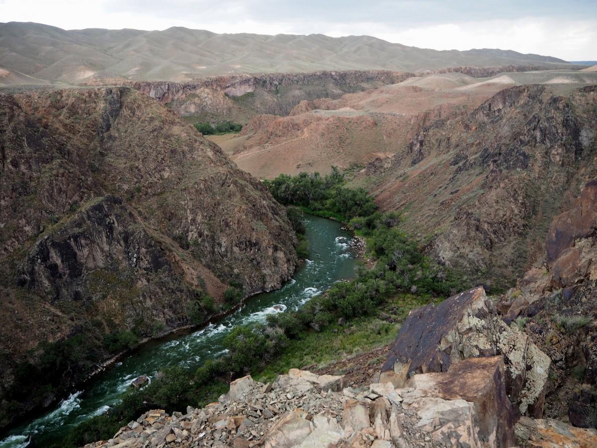 Zdjęcia:  kanion rzeki Szaryn, płd.-wsch. Kazachstan, Kanion Szaryński, KAZACHSTAN