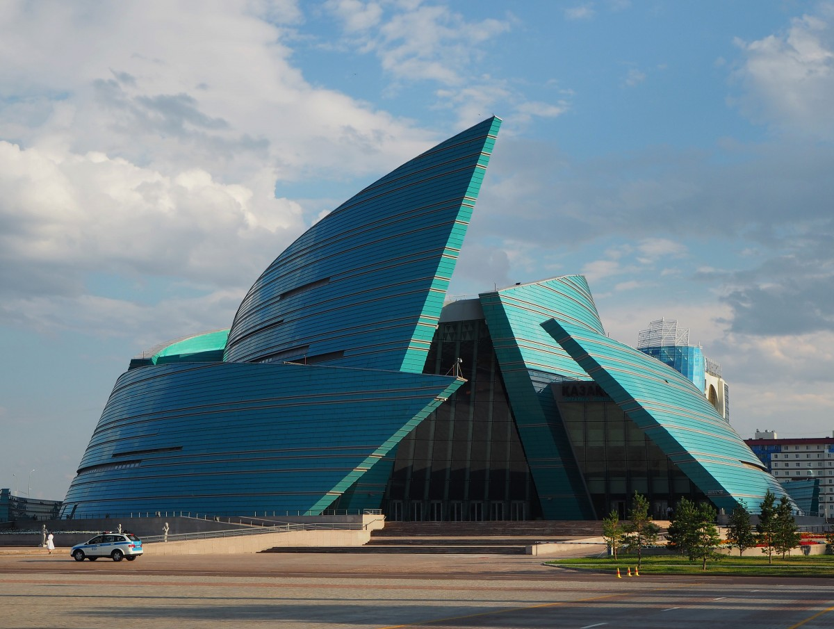 Zdjęcia: Astana, płn. Kazachstan, Sala koncertowa, KAZACHSTAN
