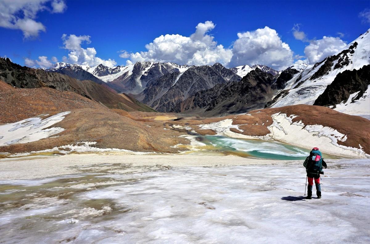 Zdjęcia: Przełęcz Turystów, Tien Szan, Ałatau Zailijski, KAZACHSTAN