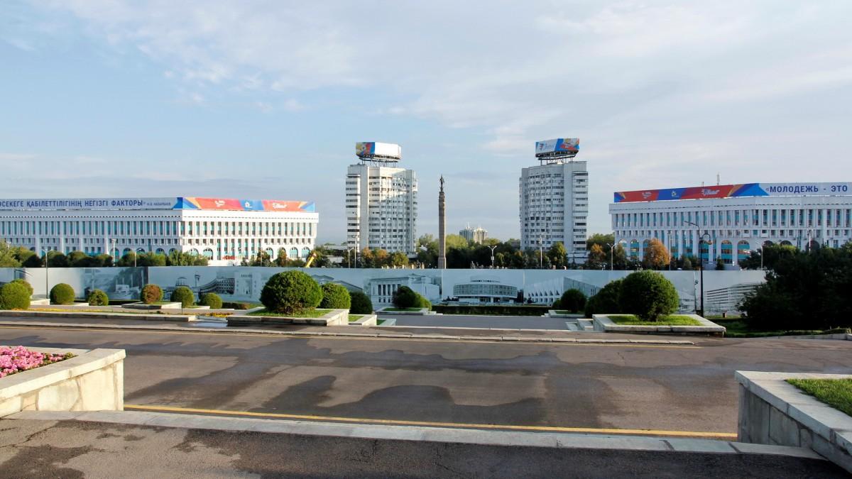 Zdjęcia: Ałma-Ata, Radziecki modernizm, KAZACHSTAN