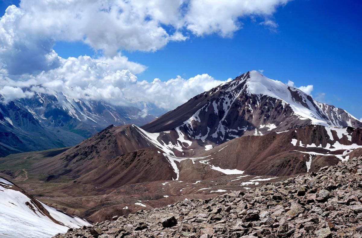 Zdjęcia: Przełęcz Turystów , Ałatau Zailijski, Tien-szan, KAZACHSTAN