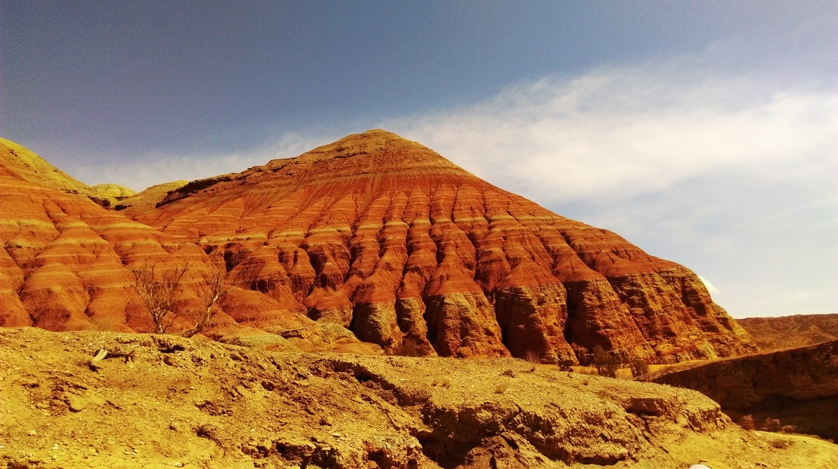 Zdjęcia: Góry Aktau, Ałtyn Emel, Kazachstan, KAZACHSTAN