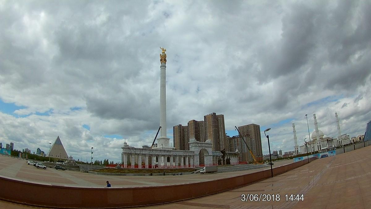 Zdjęcia: Centrum Astany, Astana, Nowoczesna stolica, KAZACHSTAN